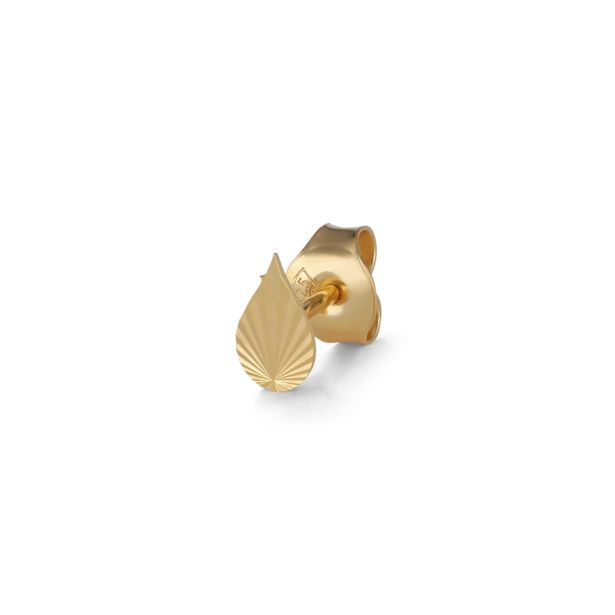Örhänge drop stud gold för 255 kr