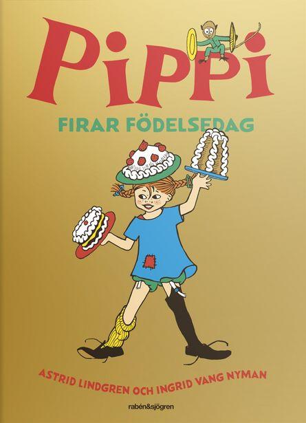 Pippi firar födelsedag inbunden för 178 kr