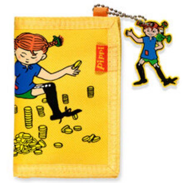 Plånbok Pippi Gul för 79 kr