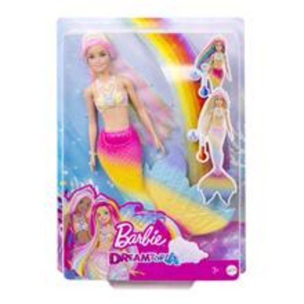 Barbie Dreamtopia Docka Sjöjungfru, Regnbåge för 379 kr