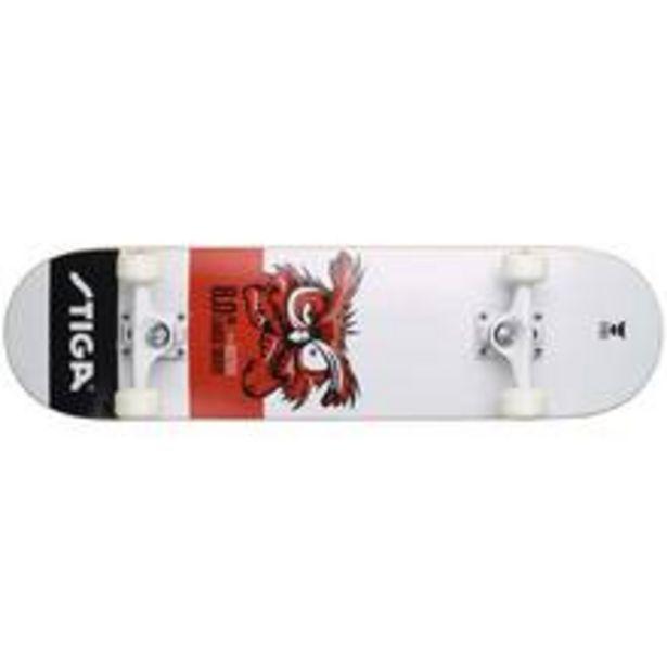 Skateboard Owl 8.0 White för 549 kr