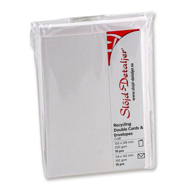 Kort och kuvert kraftpapper för 53,9 kr