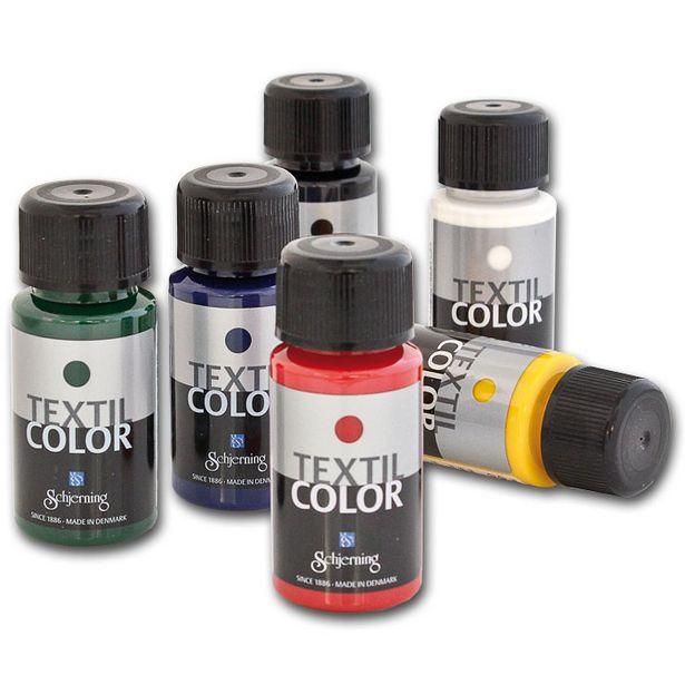 Textil Color färgset för 225 kr