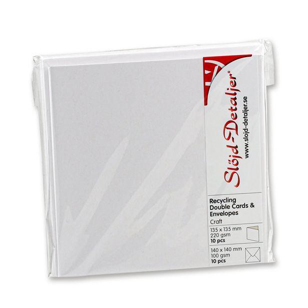 Kort och kuvert kraftpapper för 56,9 kr