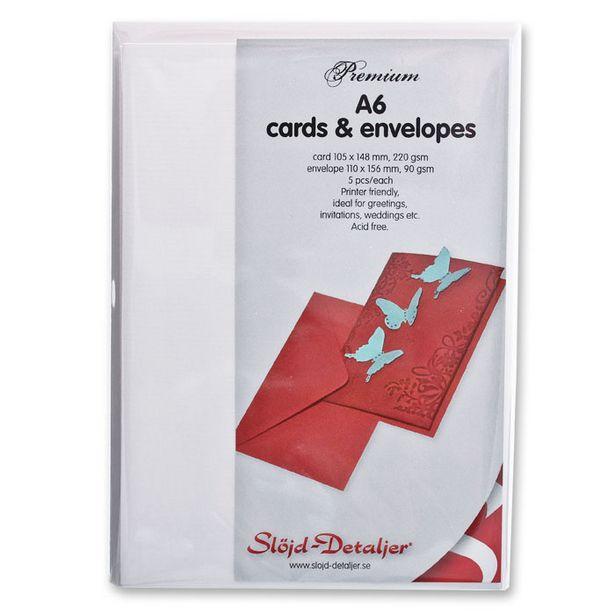 Kort och kuvert Premium för 44,9 kr