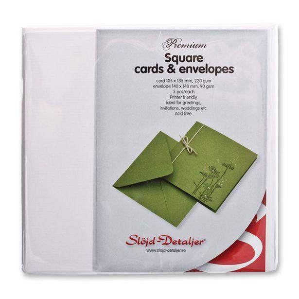 Kort och kuvert Premium för 48,9 kr