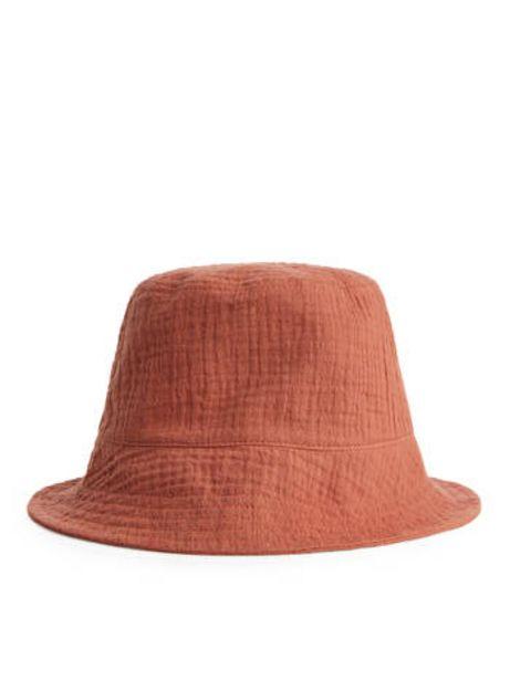 Puckered Sun Hat för 85 kr