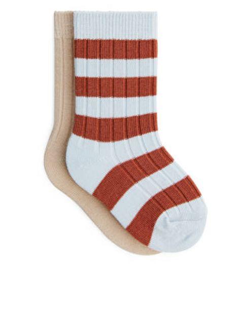 Ribbed Baby Socks för 60 kr