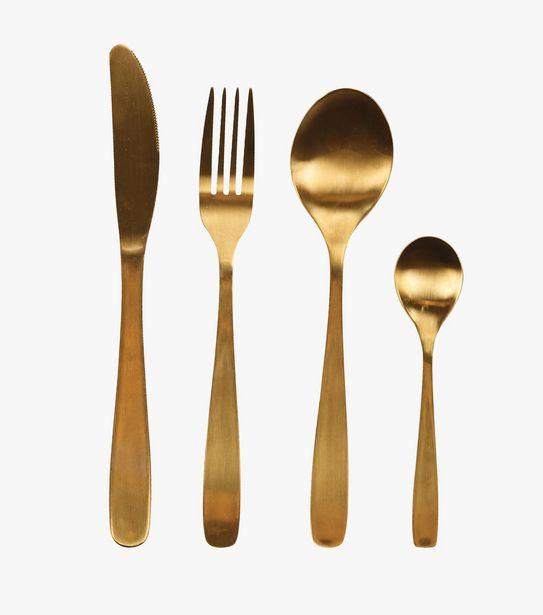 Gull bestick 4 delar guld för 139,9301 kr