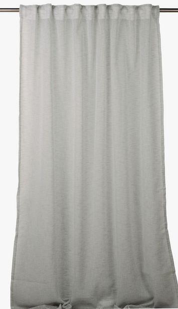 Otto gardin grå för 139,93 kr