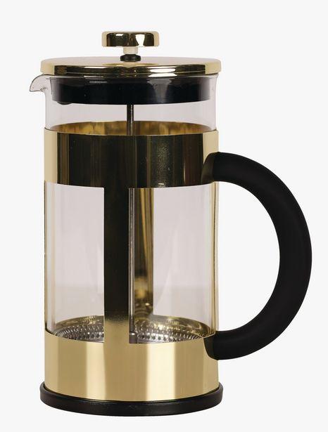 Kaffe presskanna guld för 244,9302 kr