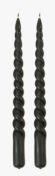 Twisted kronljus svart för 47,94 kr