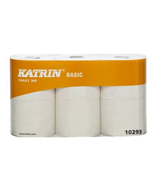 TOALETTPAPPER BASIC 360 KATRIN 360M för 299 kr