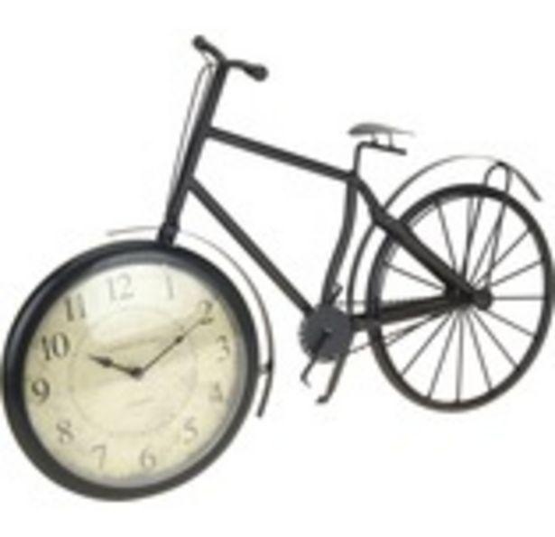 Bordsklocka cykel metall 33x50cm för 239 kr
