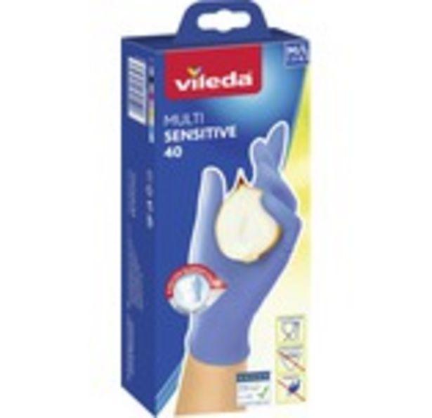 Engångshandske VILEDA Multi Sensitive 40st för 129 kr