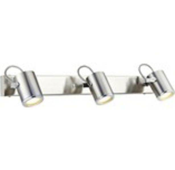 Väggspot MARKSLÖJD Lux 3-lågig IP44 stål för 1169 kr