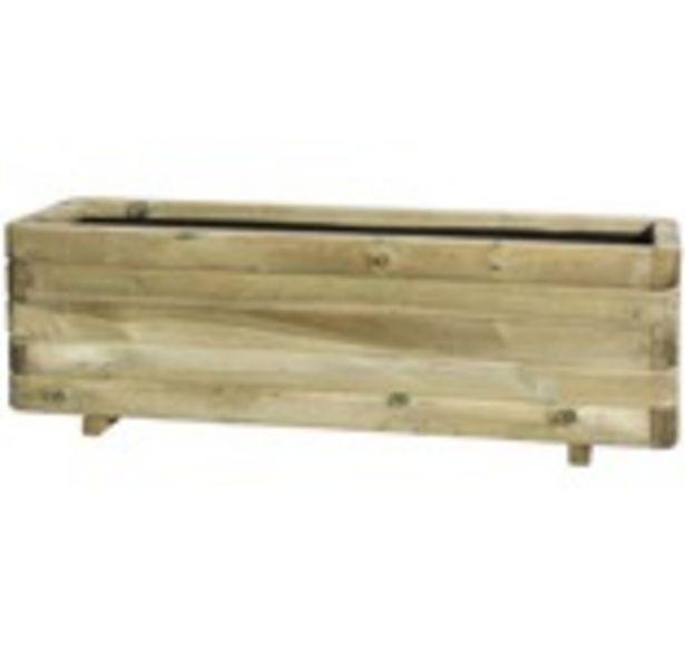 Blomlåda Toscana trä 120x40x35cm för 749 kr