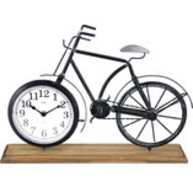 Bordsklocka cykel 41,5x10x29cm för 199 kr