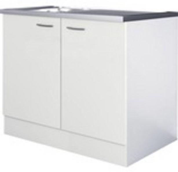 FLEX WELL Diskbänk Wito 100 cm vit för 2090 kr