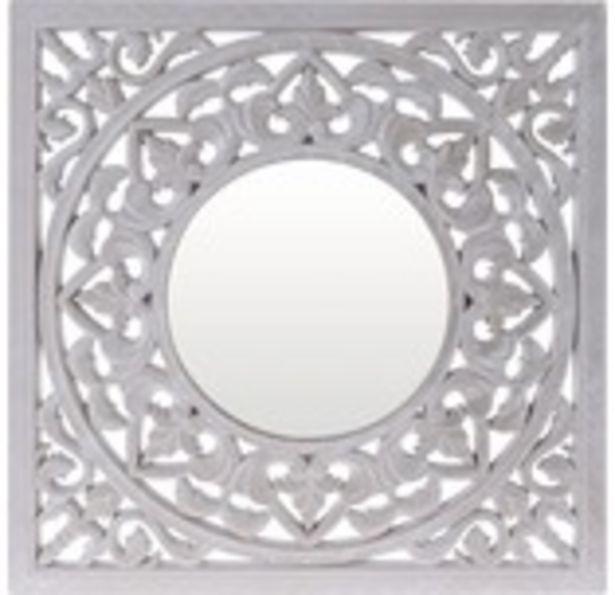 Spegel ornament 50x1,5x50cm för 199 kr