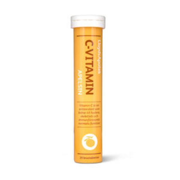 LloydsApotek C-vitamin apelsin brustablett 20 st för 29,9 kr