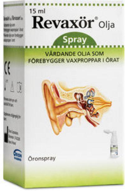 Revaxör olja öronspray 15 ml för 139 kr