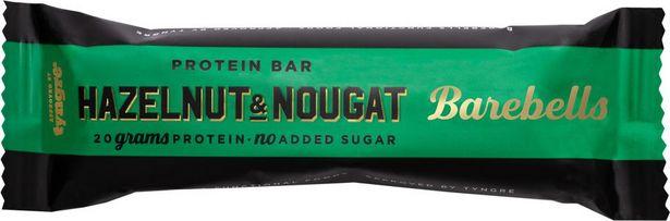 Barebells hazelnut & nougat 55 g för 22 kr