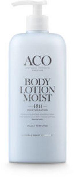 ACO Body Lotion moist parfymerad 400 ml för 89 kr