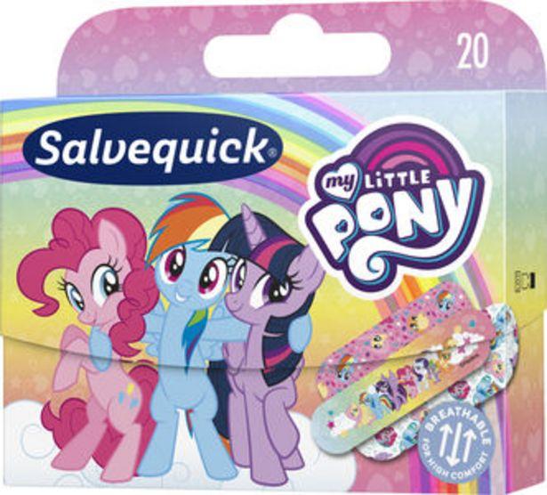 Salvequick My Little Pony plåster 20 st för 23 kr