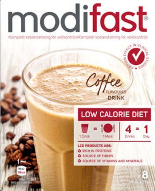 Modifast Pulver Kaffe 8 st för 102 kr