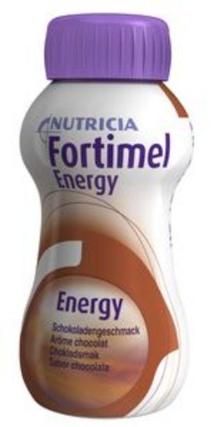 Fortimel Energy, choklad, drickfärdigt kosttillägg 4 x 200 milliliter för 85 kr