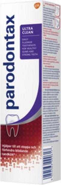 Parodontax Ultra Clean tandkräm 75 ml för 27,9 kr