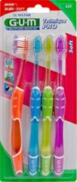 Gum Technique Pro Tandborste 4 st för 49 kr