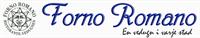 Info och öppettider för Forno Romano butik på Flygplatsinfarten